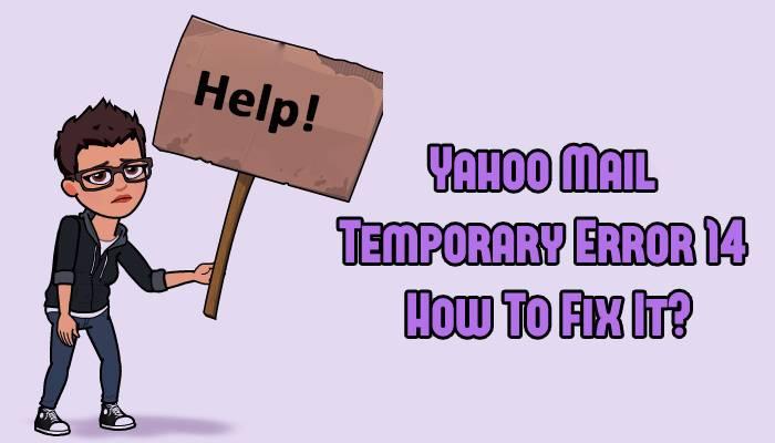 Yahoo Temporary Error 14