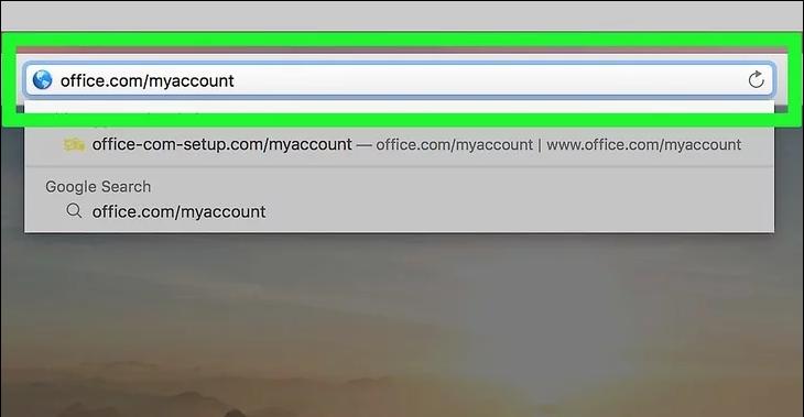 Installing Office on Mac